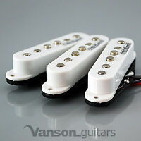 NEW Set of Wilkinson Vintage 60's Single Coil Pickups for Strat®* WHITE MWVS