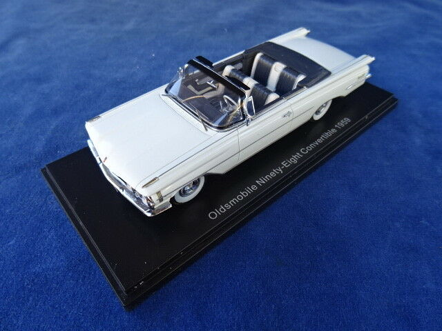 NEO SCALE MODELS - OLDSMOBILE NINETY-EIGHT CONverdeIBLE 1959 - MIB  TOP+++