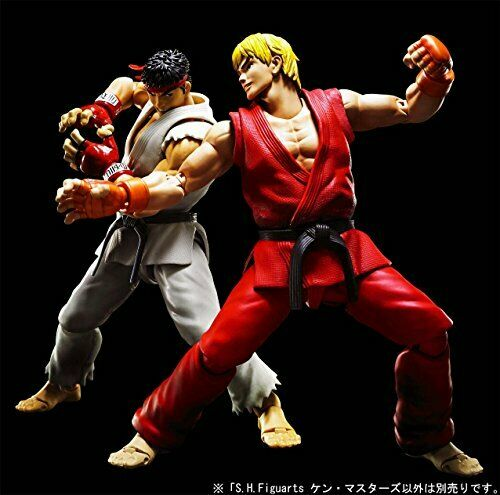 Figuarts Street Fighter Ken Masters 145mm ABS /& PVC painted action f... S.H