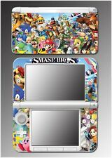 New Super Smash Bros Mario Link Zelda Sonic Video Game Skin for Nintendo 3DS XL