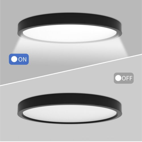 LED Deckenleuchte Ultraslim Deckenlampe Badleuchte Flurlampe für Wohnzimmer