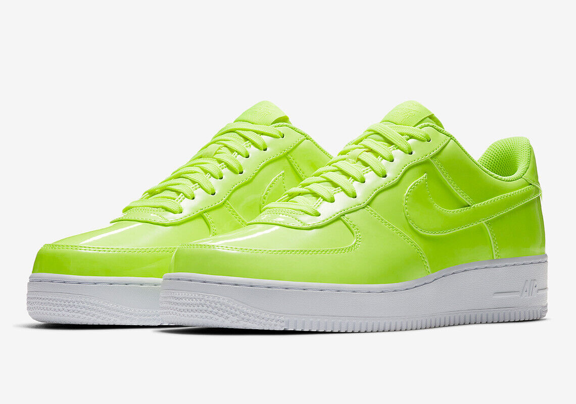 neon air force ones