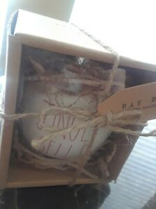 Rae-Dunn-by-Magenta-JINGLE-BELLS-Ceramic-Ball-Ornament-NEW