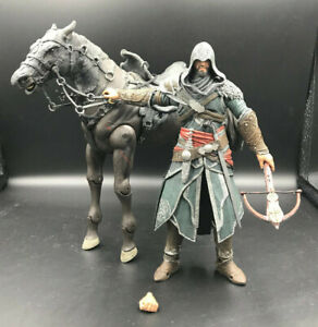 ASSASSIN'S CREED - EZIO The Mentor With Horse LOOSE Action Figures NECA TOYS