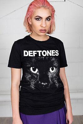 Official Deftones Sphynx Graphic Unisex T-Shirt Adrenaline Gore Diamond Eyes