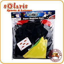 Fantasma Magic's Super Magician Cape Set 15+ Tricks Children Dressup Cape Kit