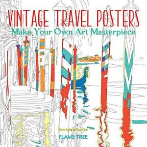 Vintage-Travel-Posters-Art-Colouring-Book-Make-Your-Own-Art-Masterpiece-Colo