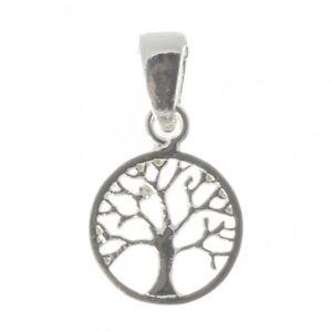 Keltischer-Baum-Des-Lebens-Lebensbaum-Anhaenger-925er-Silber-Schmuck-Neu