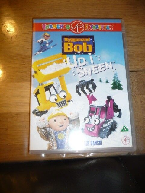 Byggemand Bob ud i sneen, DVD, tegnefilm