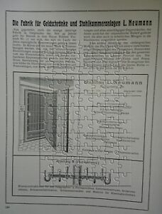L-Neumann-Geldschraenke-Safe-Tresor-Ostpreussen-Koenigsberg-Grosse-Werbeanzeige-1922