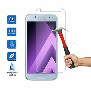Galaxy-A3-A5-A6-A7-A8-vitre-protection-verre-trempe-d-039-ecran-Samsung-2016-17-18