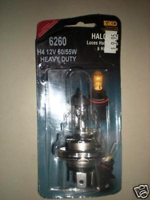 New Solite Halogen Motorcycle Auto HeadLight Head Light Bulb H4 100//55W 12V P43T