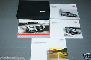 2010 audi a5 owners manual set w navigation manual ebay rh ebay co uk 2010 audi a5 owners manual pdf 2010 audi a5 cabriolet owners manual