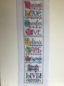 finished-completed-cross-stitch-Lizzie-Kate-unframed-Living-with-Charm-Dream-Lov