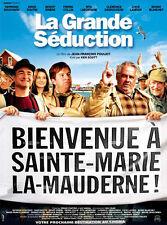 Affiche 120x160cm LA GRANDE SÉDUCTION (2003) Jean-François Pouliot - Bouchard EC