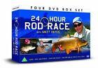 Matt Hayes 24 Hour Rod Race 4 DVD Region 2 Gift Set