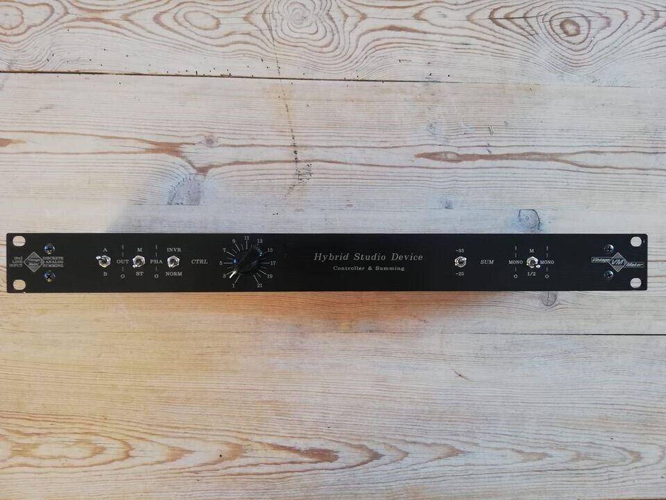 Passiv Summing Mixer, VintageMaker Hybrid Studio Device