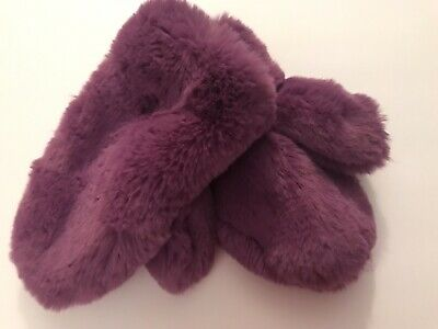 4920 Cat /& Jack Girls Faux Fur Pull On Winter Mittens One Size Select Color