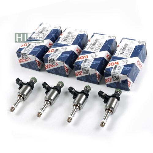 4Pcs Fuel Injectors OEM Bosch Nozzles for Audi A4 A5 TT VW Passat CC Seat 1.8TSI