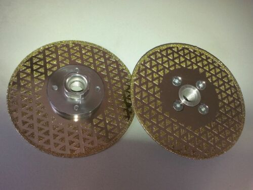 125mm// 5/'/' diamond cutting and grinding discs  with M14 flange thread 1 PC