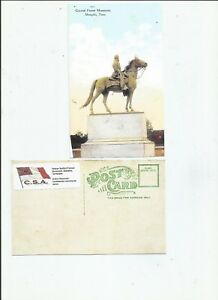 Nathan-Bedford-Forrest-Monument-Memphis-Tennessee-CARTE-POSTALE