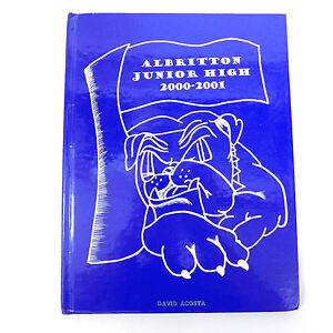 ALBRITTON-JUNIOR-HIGH-2000-2001-Fort-Bragg-NC-North-Carolina-School-YEARBOOK