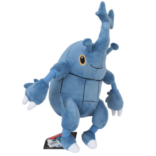 Pokemon Center Plushie Heracross Plush Doll Stuffed Soft Toy 10 inch Gift
