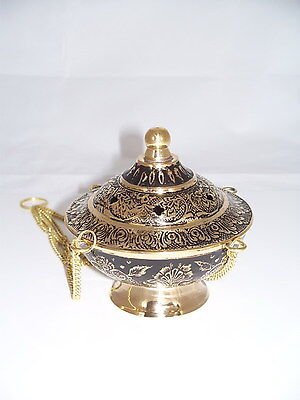Weihrauchfass Weihrauchschwenker Kalebasse Wohndeko Buddhismus Räuchergefäß Neu