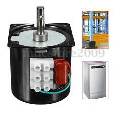 60KTYZ 220V 14W Permanent Magnetic Electric Synchronous Motor Gear 50Hz 15r/min