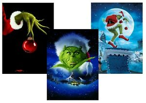 How The Grinch Stole Christmas Jim Carrey.Details About How The Grinch Stole Christmas Jim Carrey A5 A4 A3 Textless Movie Posters