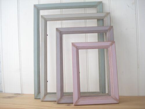 Photo//Picture Frame//Antique//Vintage//Shabby Chic//Choice 7 Vintage Colours//5 Sizes