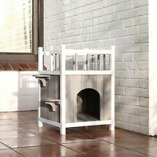 Cat Houses Outdoor Or Indoor Cats Feral Stray Shelter Protection Small Dog House
