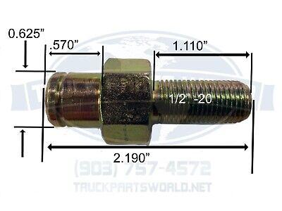 Hood Spring Stud Peterbilt M75662