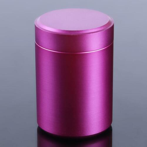 Airtight Smell Proof Spice Herbs Jars Containers Canisters Screw Top Lid New YS