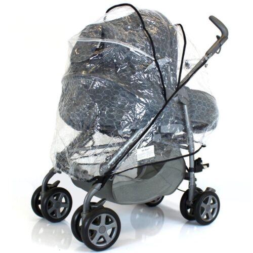 Raincover For Pliko P3 Travel System Pramette Stroller