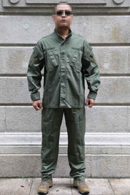 EMERSON Combat Uniform ARMY BDU Airsoft Hunting Paintball Military OD EM6905