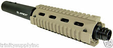 """Bt Apex2 14"""" With INSANE GEN2 Rail System Tan For Us Army Project Salvo Gun."""
