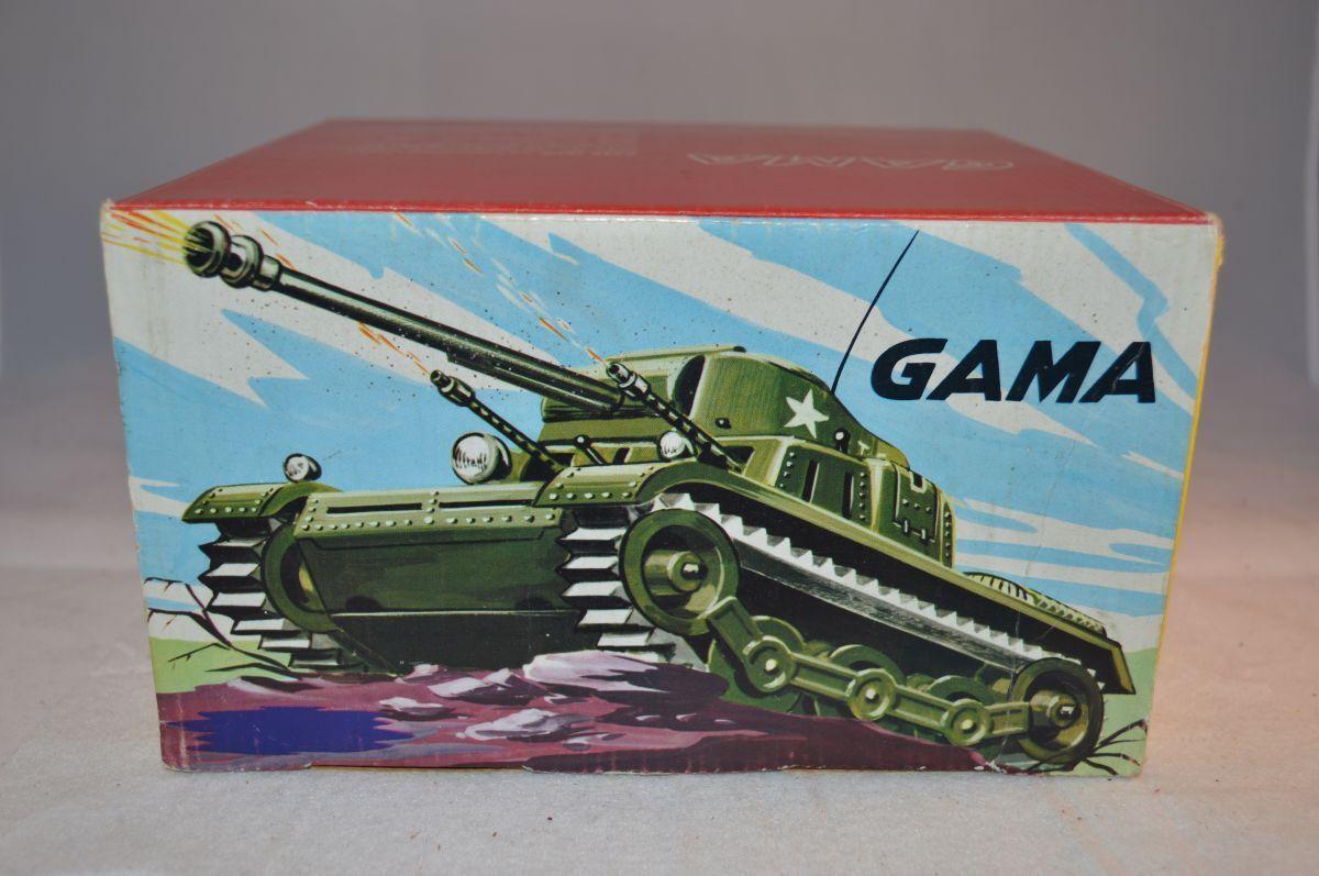 Gama 9938 tank blech in working order near mint in box mit OVP