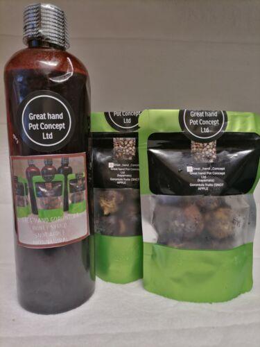 Pack de 2 FRESH gorontula fruits. 680 g greathand gorontula miel sirop