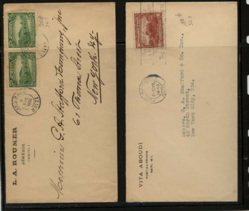 Haiti 2 covers to US MS0819