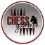 """CHESS BOARD HAND CRAFTED SOLID EBONY WOOD HELENA MOTHER OF PEARL 19/"""""""