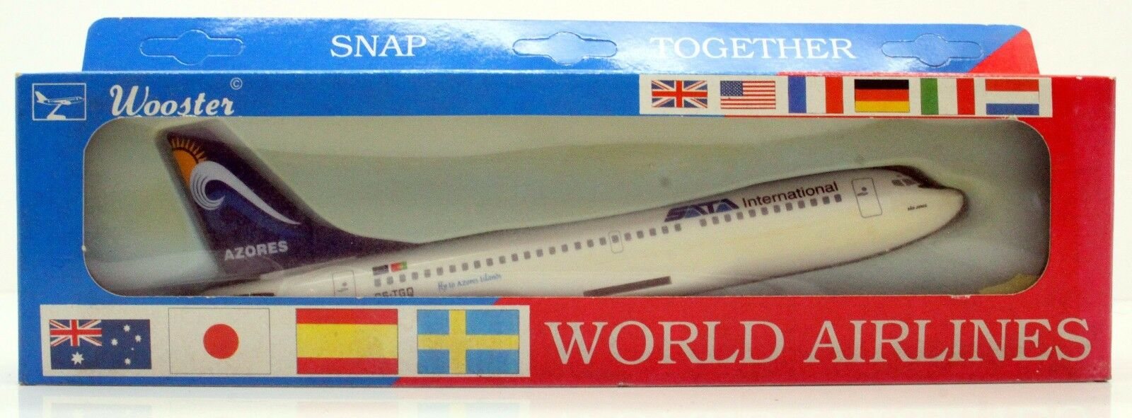 1 250 250 250 WOOSTER SNAP TOGETHER 672 AIR AZORES 737-300 3A 633b90