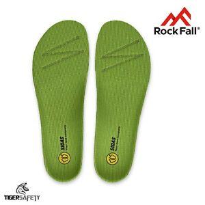 Bien Rock Fall Activ-étape Milieu 3 Ft (environ 0.91 M) Arch Confort La Semelle Intérieure Semelle Chaussures De Travail Bottes-afficher Le Titre D'origine
