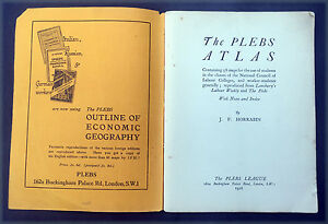 1926-Horrabin-Antique-Plebs-Atlas-with-58-Maps-for-The-Student-Worker-Socialist