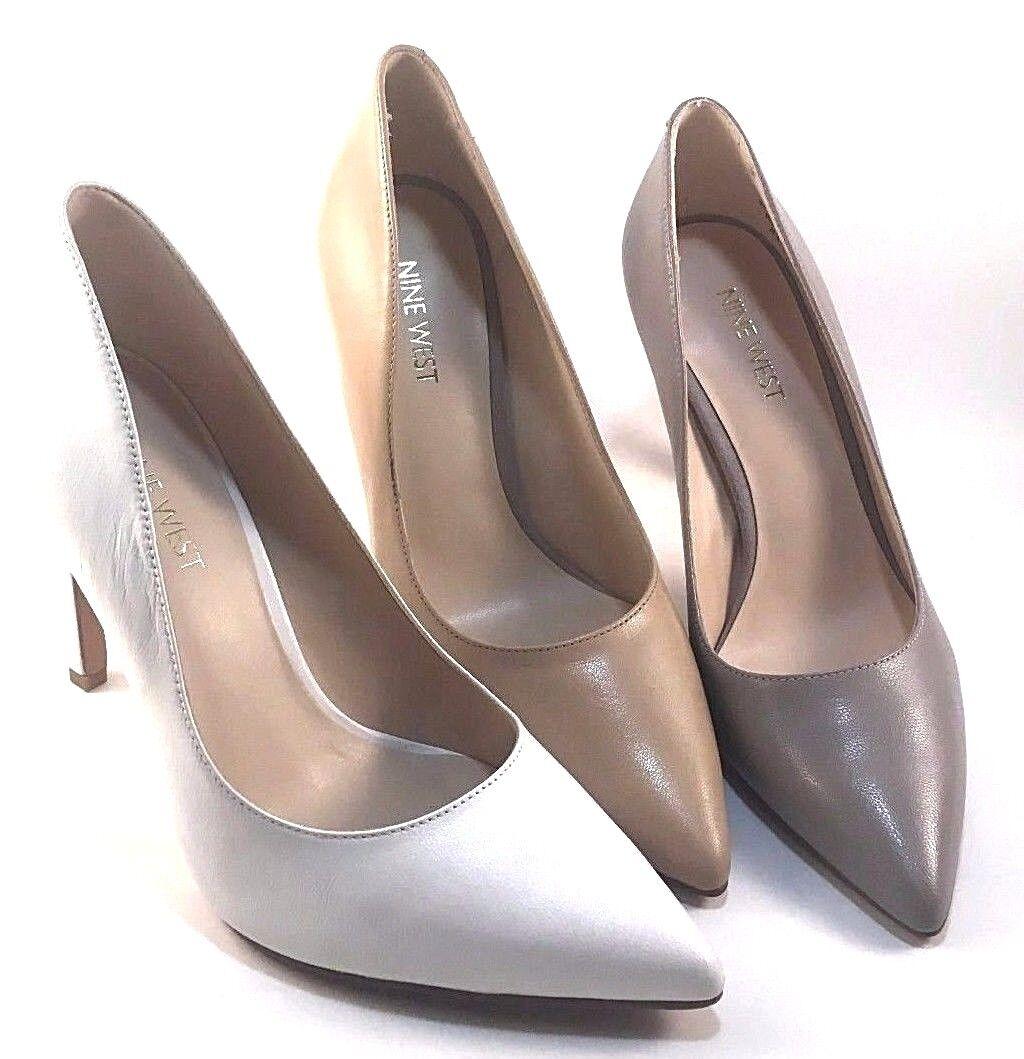 Nine West Tatiana Leder Pointy Stiletto Pumps Choose Sz/Farbe
