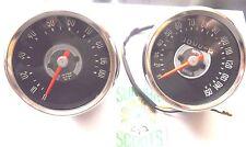 Smiths REPRO' 150 millas por hora Speedo & Tacómetro, OK para Triumph, Norton y otras bicicletas de Reino Unido