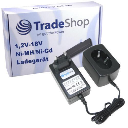 Trade-Shop Akku Ladegerät bis 18V Ladestation für Makita 6336DWDE 6337D 6337DWAE