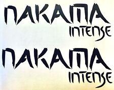 2 x Nakama Intense Mazda 6 CX-5 Auto Aufkleber Sticker Folie Motorsport Limited