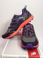New Women's New Balance WT110GP2 Trail Running Shoe Black/Grey/Purple Size 7 $90