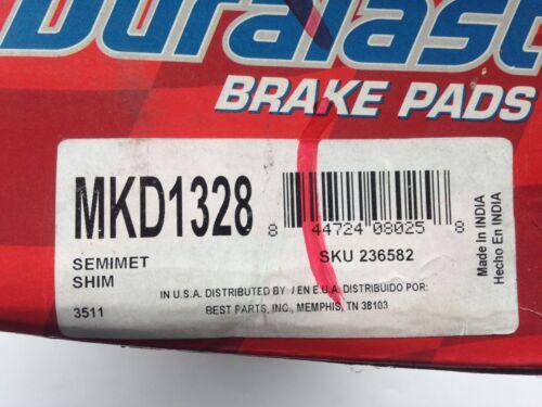 DURALAST Disc Brake Pad Front MKD1328